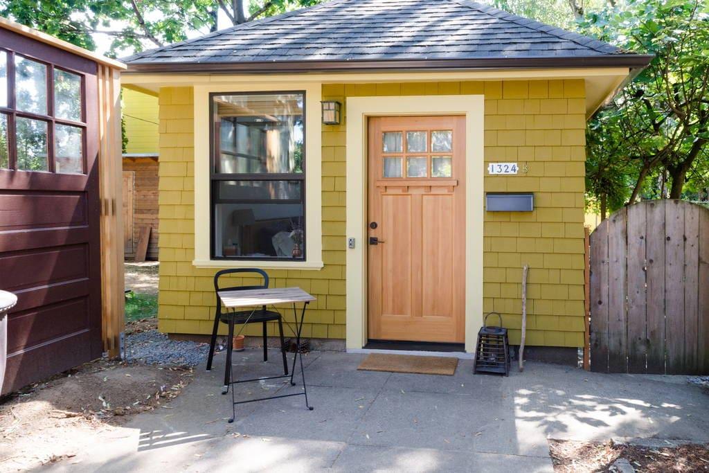 Garage Tiny House Teeny Abode